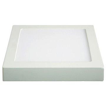 Solight LED panel přisazený 12W čtvercový, bílý