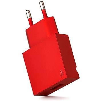USBEPOWER Pop kovově červená