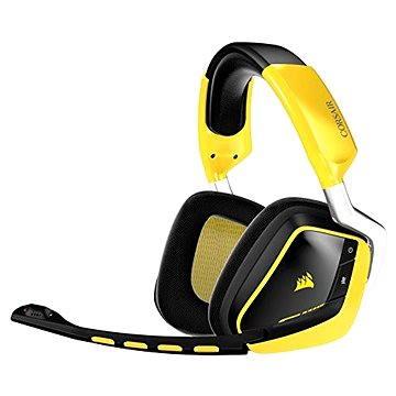 Corsair VOID Gaming Wireless žlutá