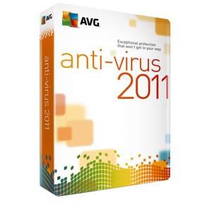 OEM AVG Anti-Virus 2011 licence pro 1 počítač na 1