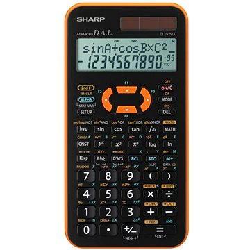 Sharp EL-520X oranžová