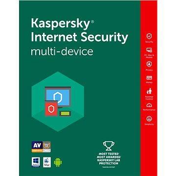 Kaspersky Internet Security multi-device 2016/2017 pro 5 zařízení na 12 měsíců