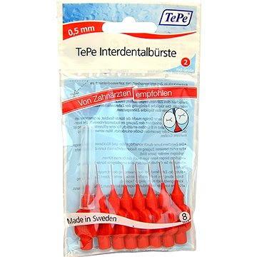 TEPE 0,5 mm Normal-červený 8 ks