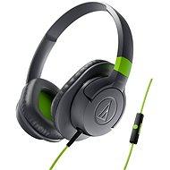 Audio-technica ATH-AX1iSGY šedá