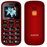 Aligator A321 Senior červeno-černý + stolní nabíječka