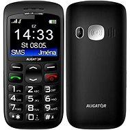 Aligator A670 Senior Black + Stolní nabíječka
