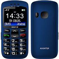 Aligator A670 Senior Blue + Stolní nabíječka