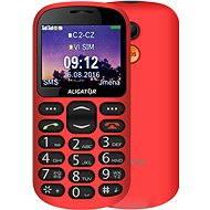 Aligator A880 GPS Senior červený + stolní nabíječka