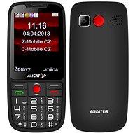 ALIGATOR A890 Senior černá