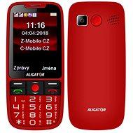 ALIGATOR A890 Senior červená