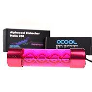 Alphacool Eisbecher Helix 250mm - červený