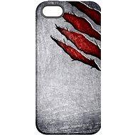 """MojePouzdro """"Lví drápy"""" + ochranné sklo pro iPhone 5s/SE"""