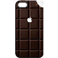 "MojePouzdro ""Čokoláda"" + ochranné sklo pro iPhone 5s/SE"