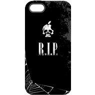 "MojePouzdro ""R.I.P."" + ochranné sklo pro iPhone 5s/SE"