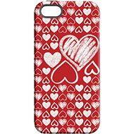 """MojePouzdro """"Láska"""" + ochranné sklo pro iPhone 5s/SE"""