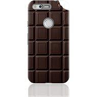 "MojePouzdro ""Čokoláda"" + ochranné sklo pro Google Pixel"