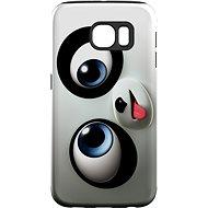 "MojePouzdro ""Vykulený"" + ochranná fólie pro Samsung Galaxy S6 Edge"