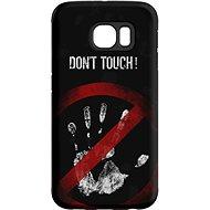 "MojePouzdro ""Nesahat !"" + ochranná fólie pro Samsung Galaxy S6 Edge"