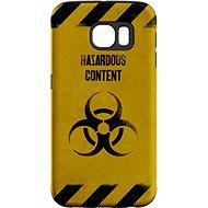 "MojePouzdro ""Na vlastní riziko"" + ochranná fólie pro Samsung Galaxy S6 Edge"