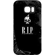"""MojePouzdro """"R.I.P."""" + ochranná fólie pro Samsung Galaxy S6 Edge"""
