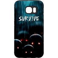 "MojePouzdro ""Zombie"" + ochranná fólie pro Samsung Galaxy S6 Edge"