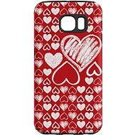 """MojePouzdro """"Láska"""" + ochranná fólie pro Samsung Galaxy S6 Edge"""