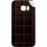 """MojePouzdro """"Čokoláda"""" + ochranná fólie pro Samsung Galaxy S7 Edge"""