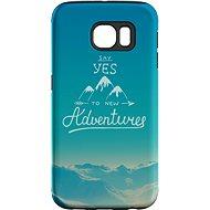 "MojePouzdro ""Dobrodružství"" + ochranná fólie pro Samsung Galaxy S7 Edge"