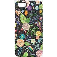 """MojePouzdro """"Noční zahrada"""" + ochranné sklo pro iPhone 5s/SE"""