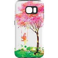 """MojePouzdro """"Strom štěstí"""" + ochranné sklo pro Samsung Galaxy S6"""