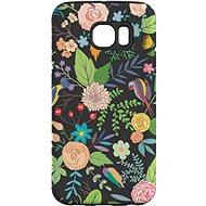 """MojePouzdro """"Noční zahrada"""" + ochranná fólie pro Samsung Galaxy S6 Edge"""