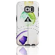 "MojePouzdro ""Směr"" + ochranná fólie pro Samsung Galaxy S6 Edge"