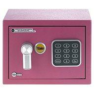 YALE Safe mini YSV/170/DB1/P růžový