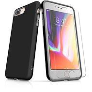 MojePouzdro Tough pro iPhone 8 Plus SLVS0020 Černo-černá