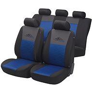 Walser potahy sedadel na celé vozidlo Racing modré/černé