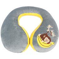 Walser polštářek cestovní/krční límec Monkey šedý (od 5 let)