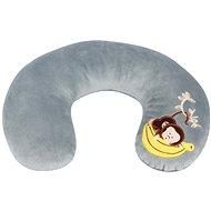 Walser polštářek cestovní/krční límec Mini Monkey šedý (od 3 let)