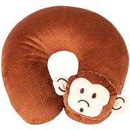 Walser polštářek cestovní/krční límec Monkey hnědý (od 5 let)