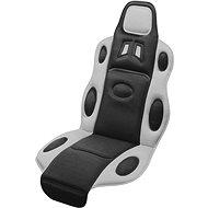 COMPASS Potah sedadla RACE černo-šedý