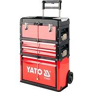YATO Vozík na nářadí 3 sekce, 2 zásuvky