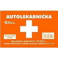Compass Lekárnička I. plastová pro slovenský trh