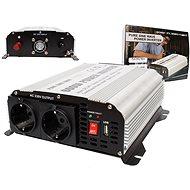 Měnič napětí 24V/230V 600W, čistá sinusovka