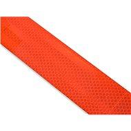 Samolepící páska reflexní-dělená 1m x 5cm červená