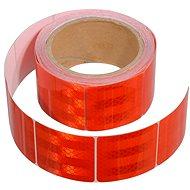 Compass Samolepící páska reflexní dělená 5m x 5cm červená (role 5m)