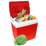 COMPASS Chladící box 30litrů RED 220/12V displej s teplotou + dárek!