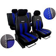 Sixtol Autopotahy kožené s alcantarou GT modré