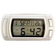 Carpoint Teploměr digitalní s hodinami a kalendářem