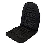 COMPASS Potah sedadla masážní s magnety černý
