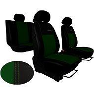 Autopotahy kožené EXCLUSIVE zelené