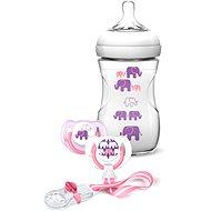 Philips AVENT kojenecká sada Natural pro dívku - Slon